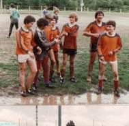 Deutsche Gehrlosen Junioren Fuballmeisterschaft - bin 3. von Links