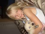 Meine Tochter und meine Hund